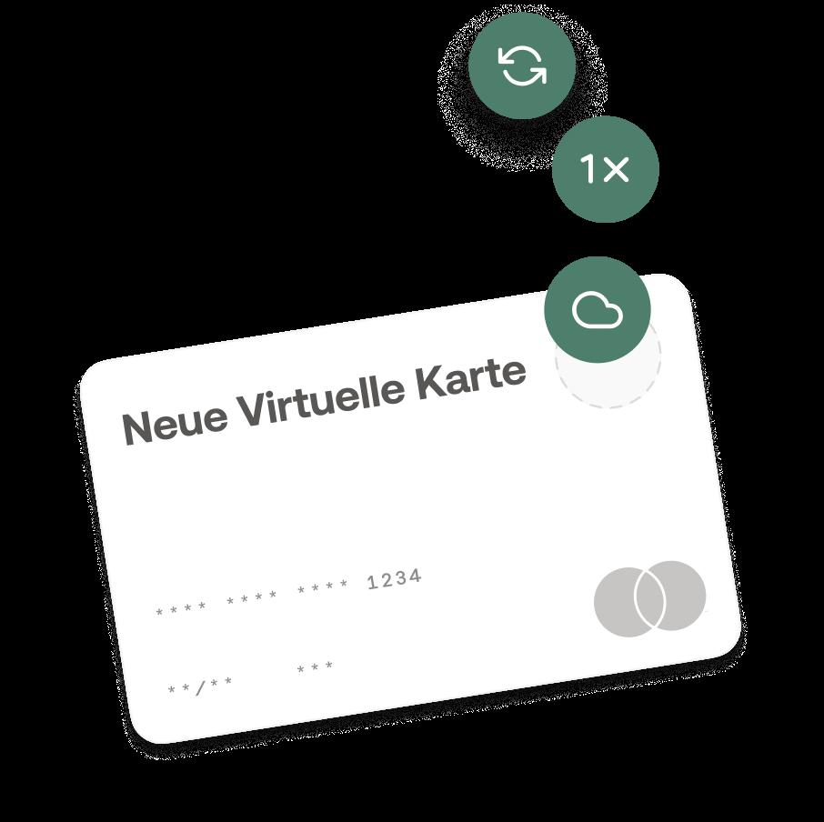 Virtuelle Kreditkarte von Moss