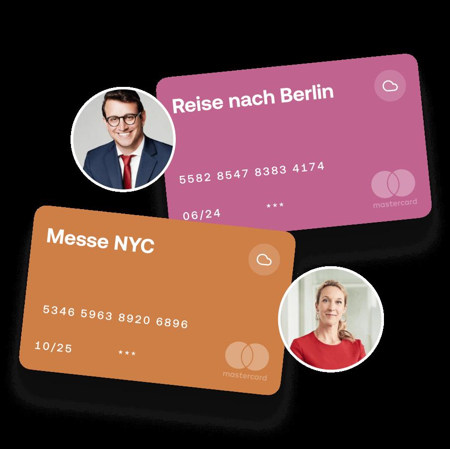 Automatisiertes Spesenmanagement mit Moss - Kreditkarten nach Berlin oder NYC