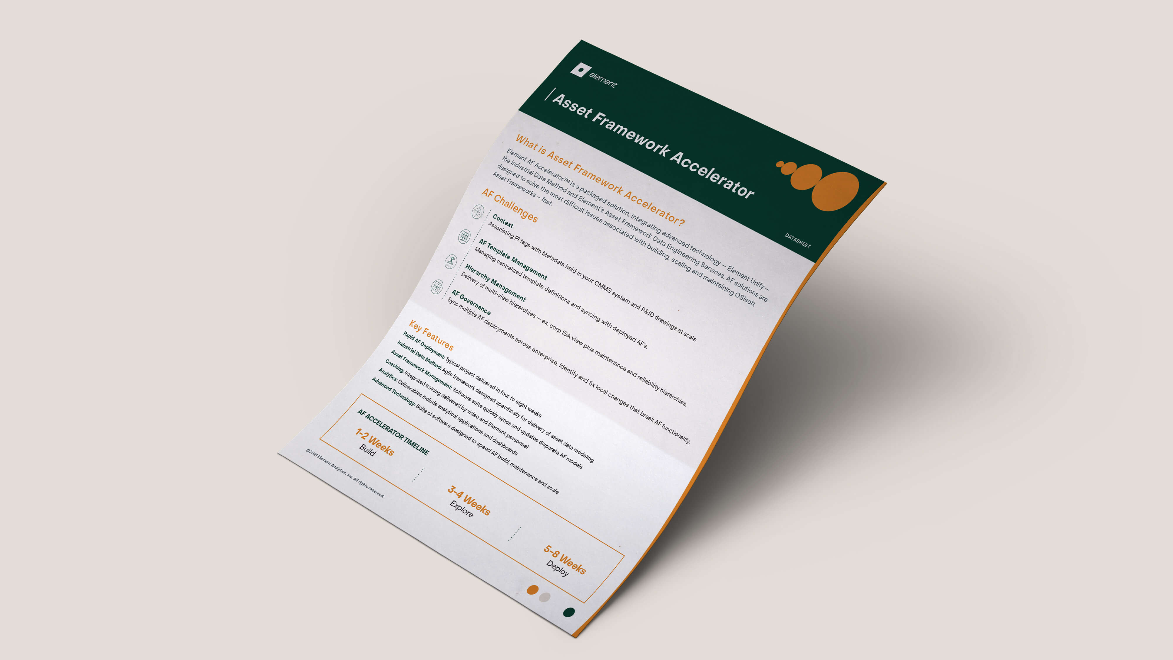 Element Asset Framework Accelerator
