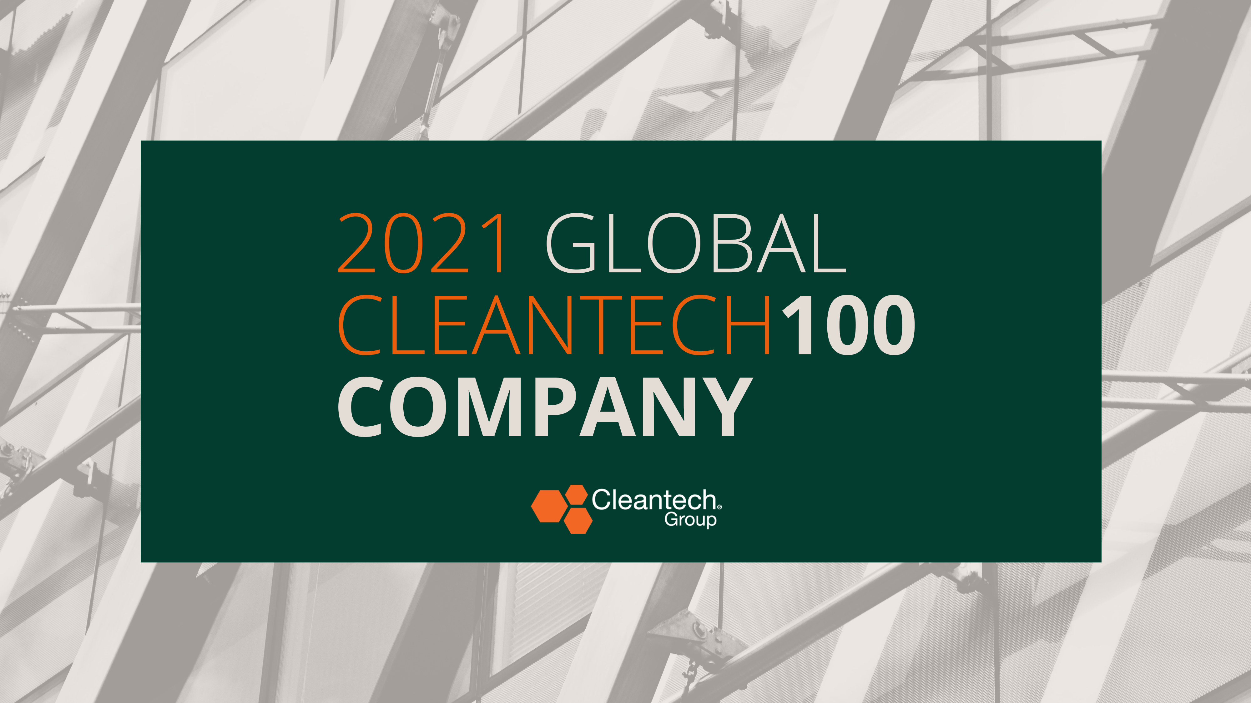 Element Named to The Global Cleantech 100 For Second Year in a Row