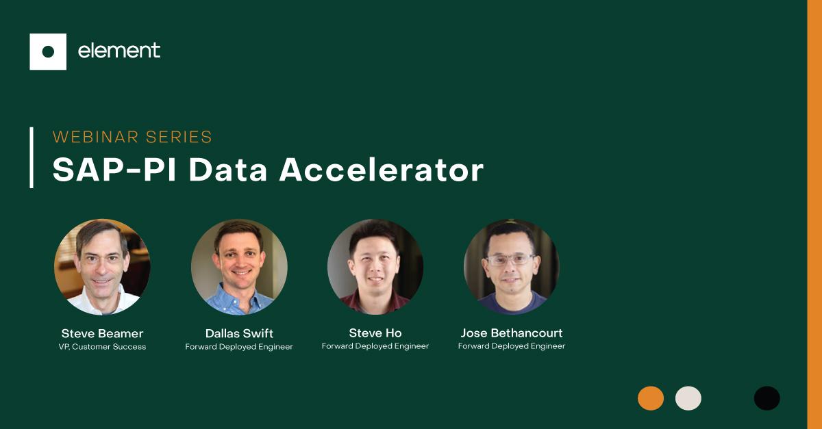 SAP-PI Data Accelerator Webinar Series