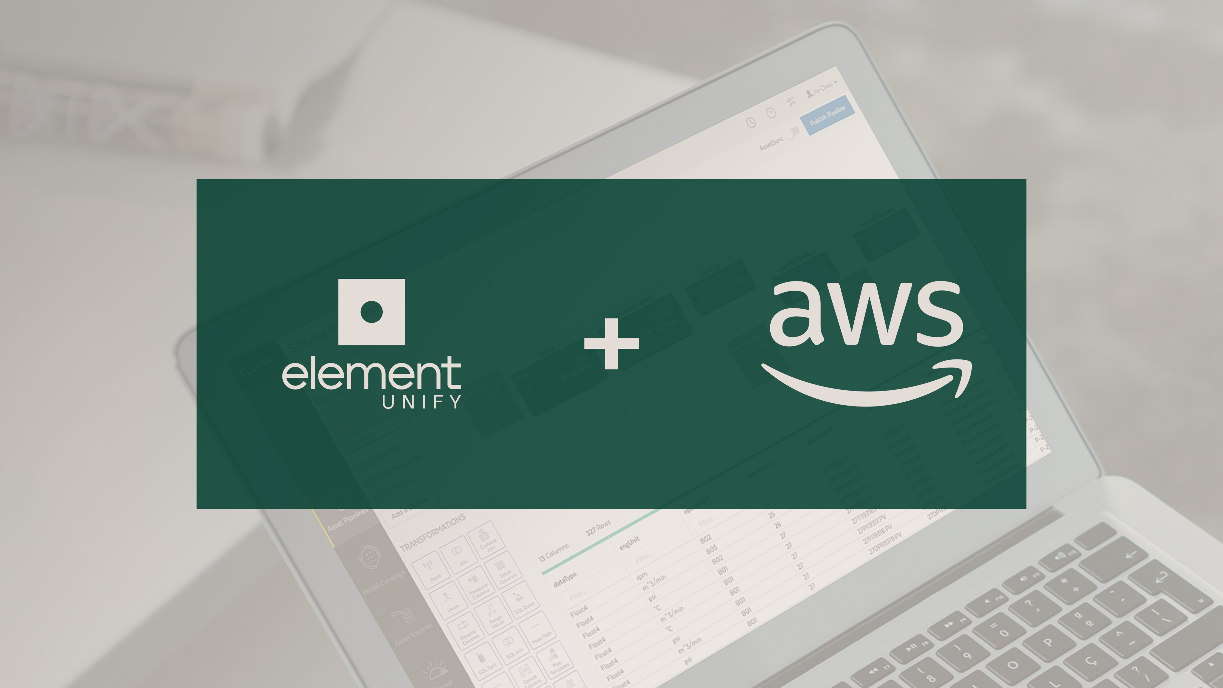 Element Announces Element Unify Integration with AWS IoT SiteWise