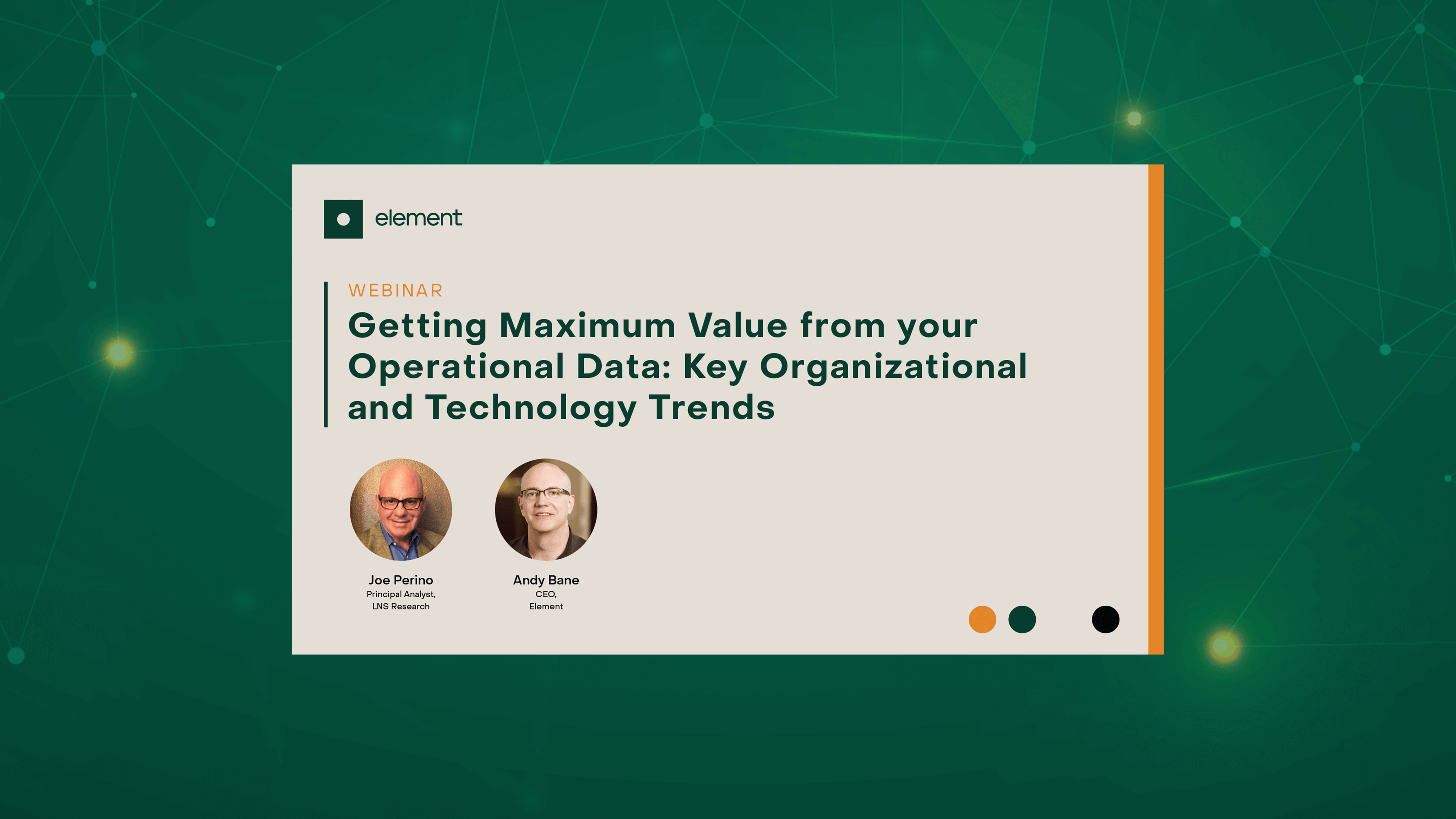 Maximize the value of your Operational Data – It's Too Valuable an Asset Not to!