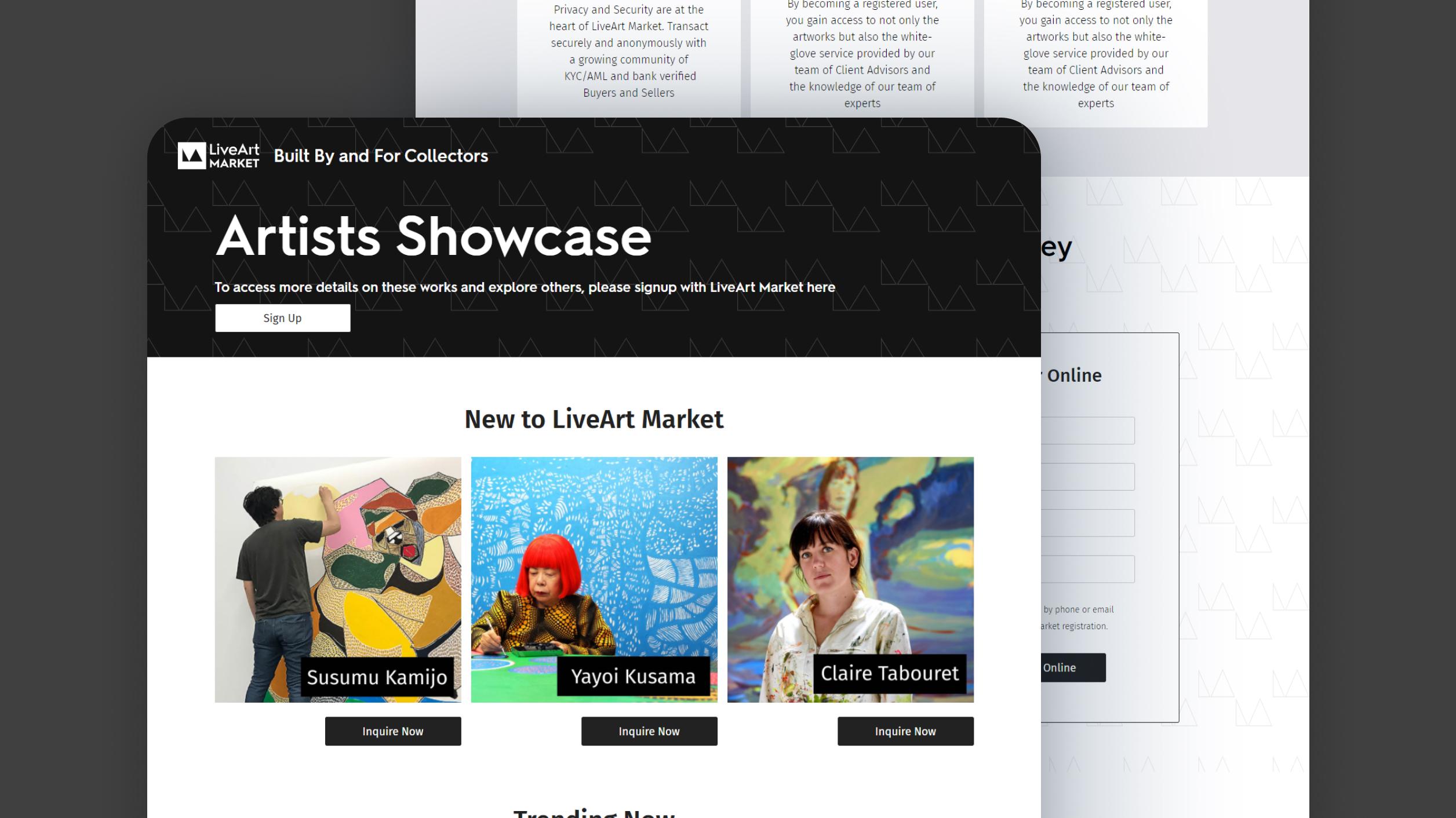 LiveArt Market