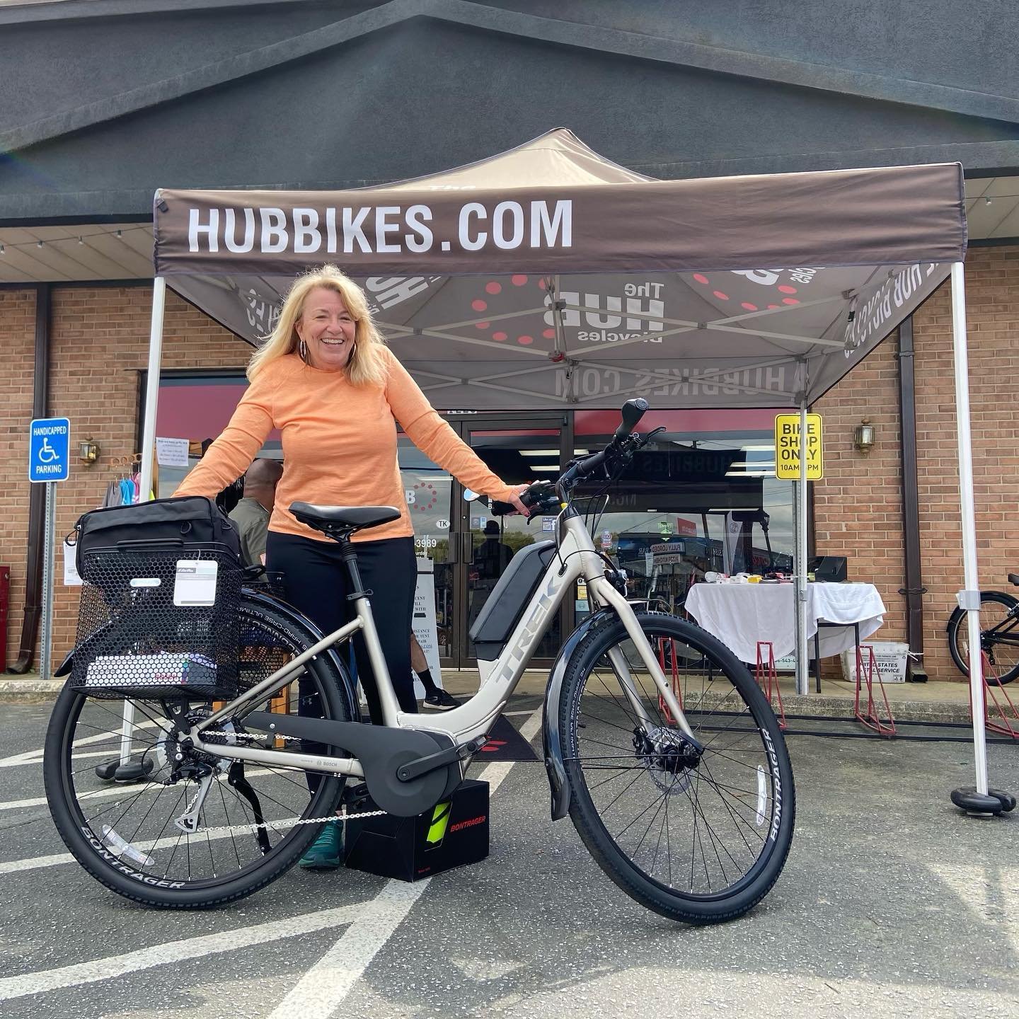Happy new bike day for @janbeckley Thanks so much!
