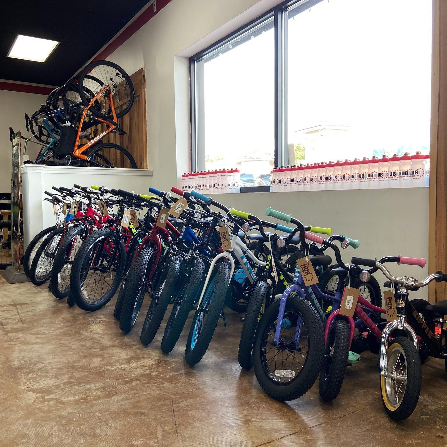 Are you thinking ahead about Christmas yet? Supply chain issues and all.. we have tons of kids bikes because we planned ahead. Come see us. . #planahead #christmasiscoming  #ridebikeshavefun . . . #gobybike #kidsbikes #trek #christmas #hubbikes