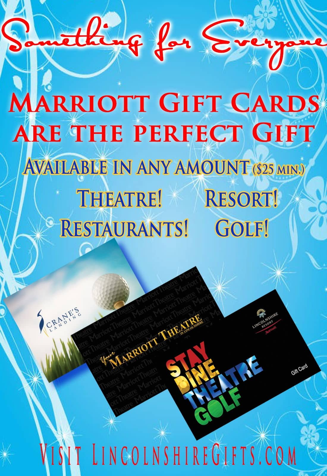 Marriott gift cards are the perfect gift