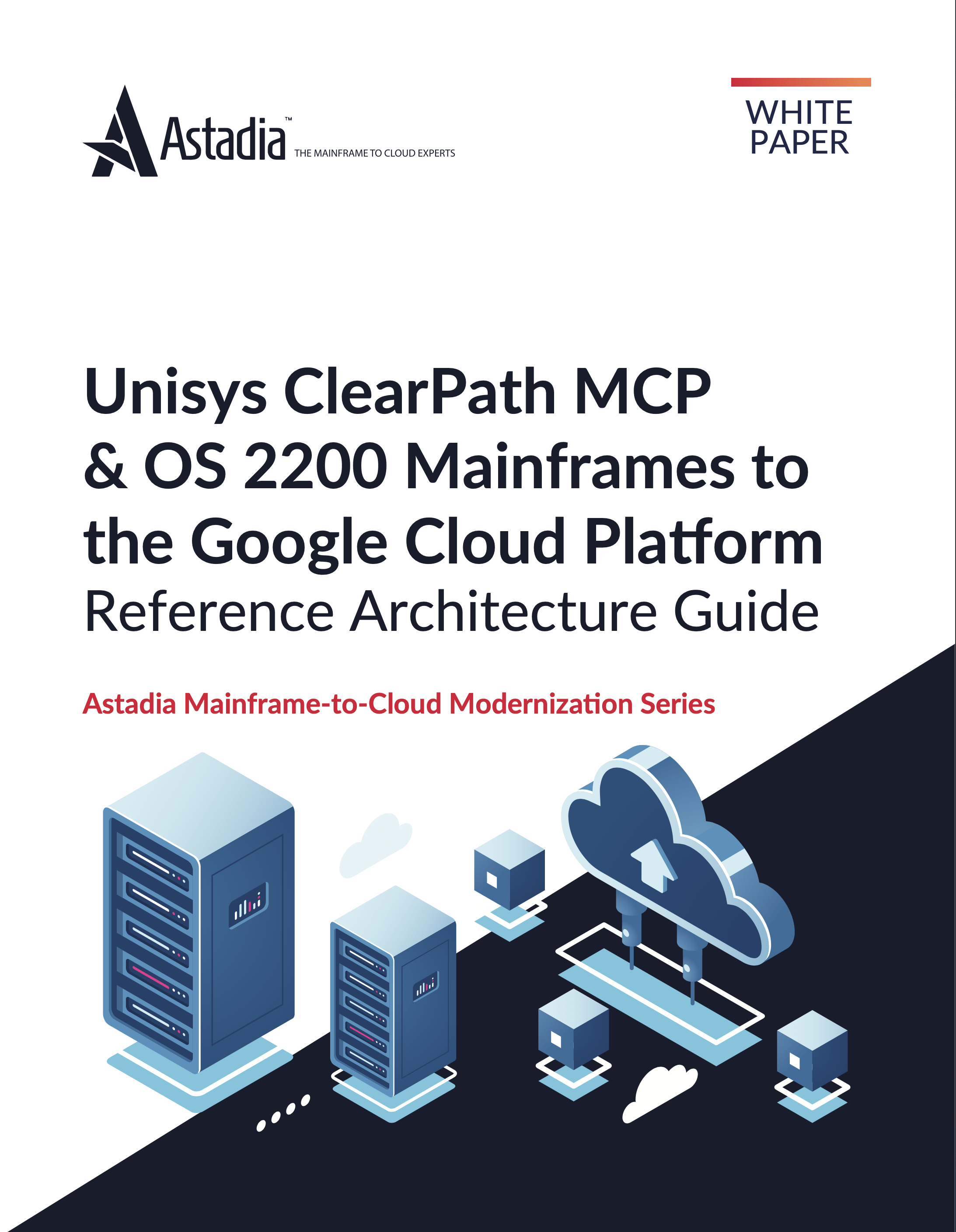 Unisys ClearPath MCP & OS 2200 Mainframes to the Google Cloud Platform