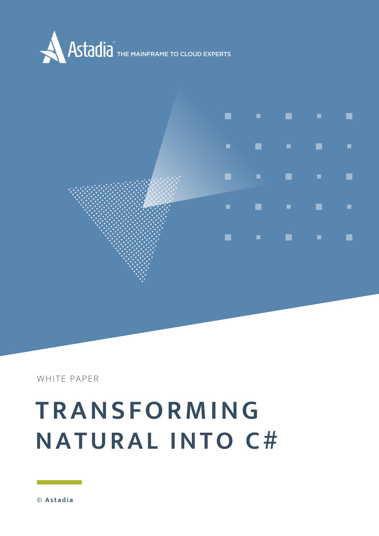 Natural into C# Transformation