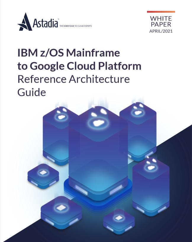IBM zOS Mainframe to Google Cloud Platform