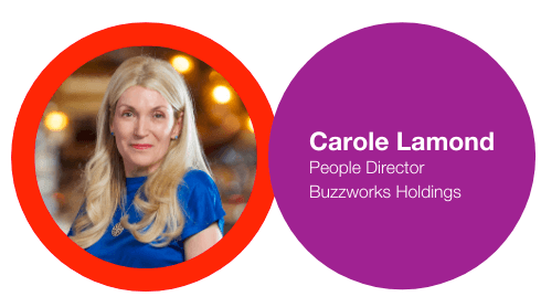 Buzzworks Holdings People Director - Carole Lamond