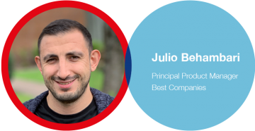 Best Companies manager -  Julio Behambari