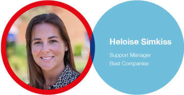 Best Companies manager - Helise Simkiss