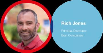 Best Companies manager -  Rich Jones