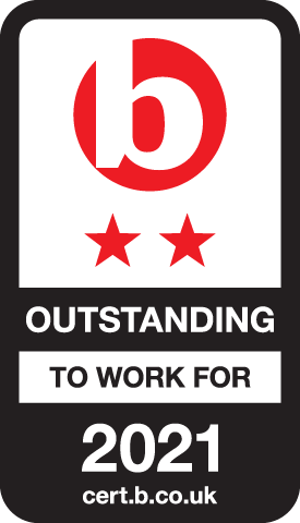 Best Companies Outstanding Accreditation logo