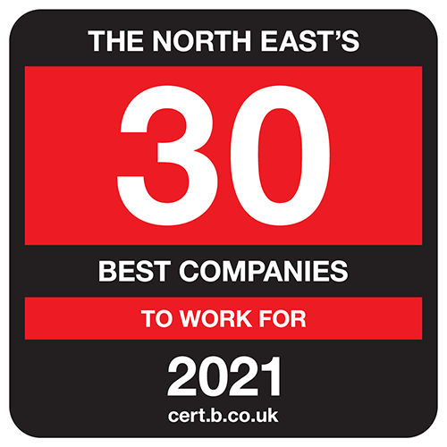 The North East's 30 Best Companies to Work For list logo