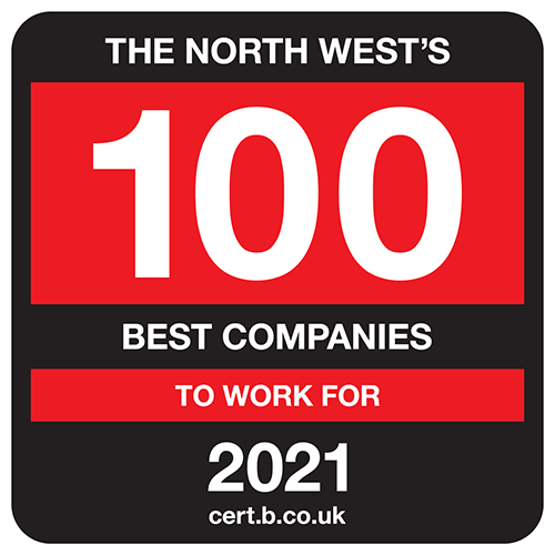 The North West's 100 Best Companies to Work For list logo