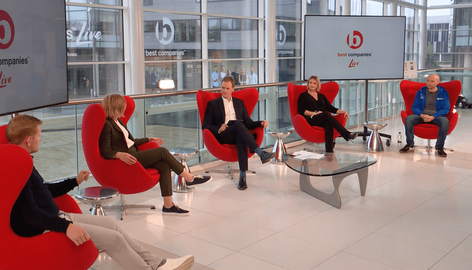 Best Companies 'The Future of the Workplace' feature during Best Companies Live Event