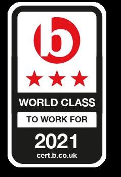 Best Companies Accreditation 3 Star World Class