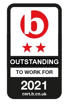 Best Companies Accreditation 2 Star Outstanding