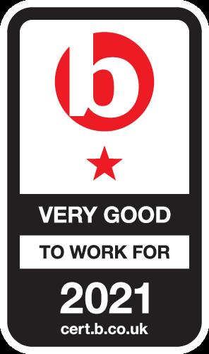 Best Companies Accreditation 1 Star Very Good