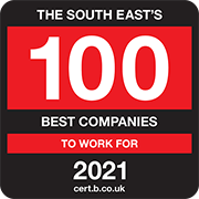 The South East's 100 Best Companies to Work for 2021 Logo
