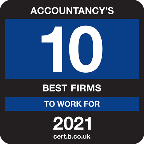 Accountancy's 10 Best Companies to Work For 2021 Logo