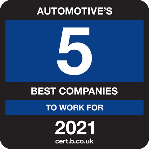 Automotive's 5 Best Companies to Work For 2021 Logo