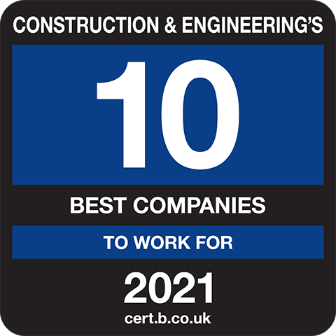 Construction and Engineering's 10 Best Companies to Work For 2021 Logo