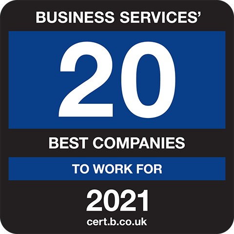 Business Services 20 Best Companies to Work For 2021 Logo
