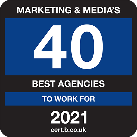 Marketing and Medias 40 Best Companies to Work For 2021 Logo
