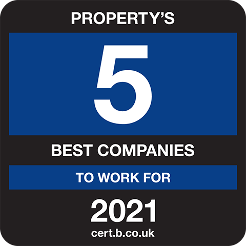 Property's 5 Best Companies to Work For 2021 Logo