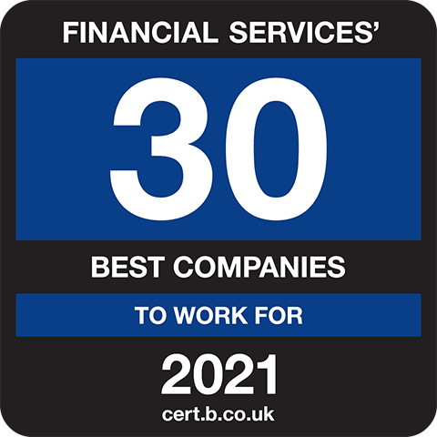 Financial Services' 30 Best Companies to Work For 2021 Logo