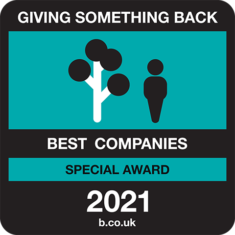 Best Companies Giving Something Back Special Award Logo