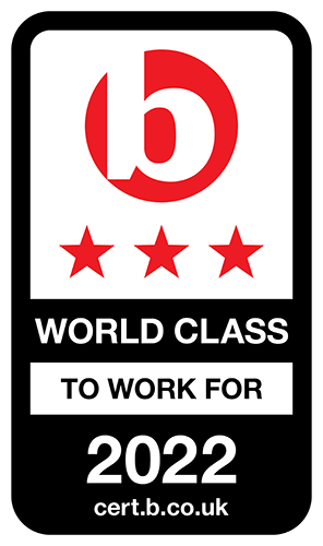 Best Companies World Class Accreditation logo