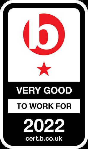 Best Companies Very Good Accreditation logo
