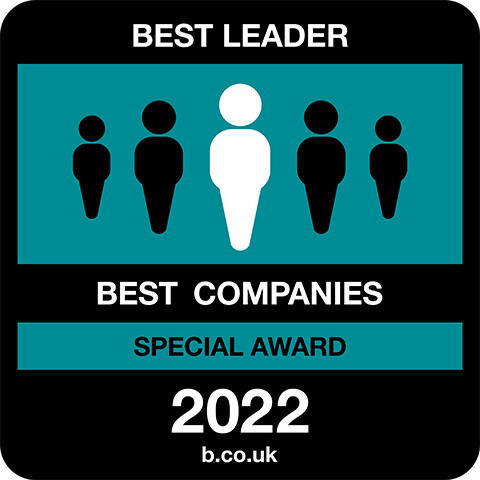 Best Leader Best Companies Special Award 2021 logo