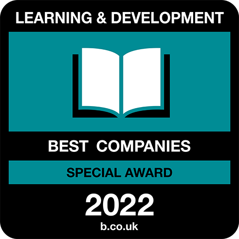 Learning and Development Best Companies Special Award 2021 logo