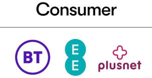 BT Consumer company logo