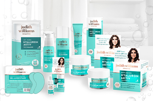 Judith Williams Cosmetics im stationären Handel