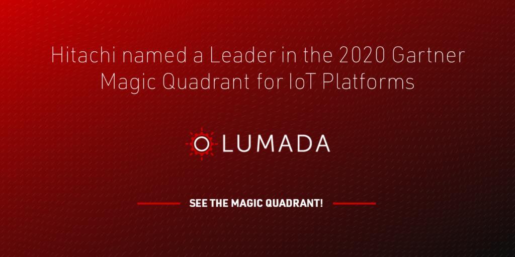 Hitachi Lumada Gartner Magic Quadrant Card