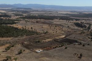 Aerial image of Maules Creek