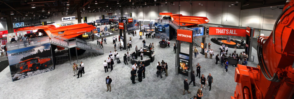 Image of Hitachi Booth at MINExpo 2012