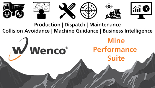 Image of Wenco Mine Performance Suite flag