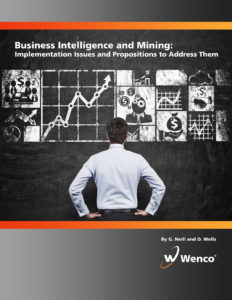 Clunky system architectures, poor data handling, and confusing user interfaces all block mines from getting the real value of their systems. But, there are ways to address those problems. Many people in the industry just aren't aware of them. That's why our BI experts put together our latest white paper, Business Intelligence and Mining: Implementation Issues and Propositions to Address Them. This paper details the main reasons why mining operations fail to make BI a valuable part of their workflow.