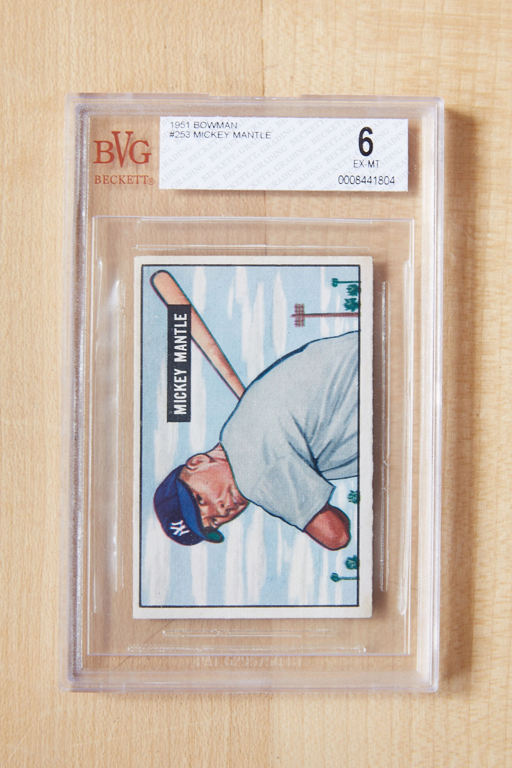 Mantle Rookie Card