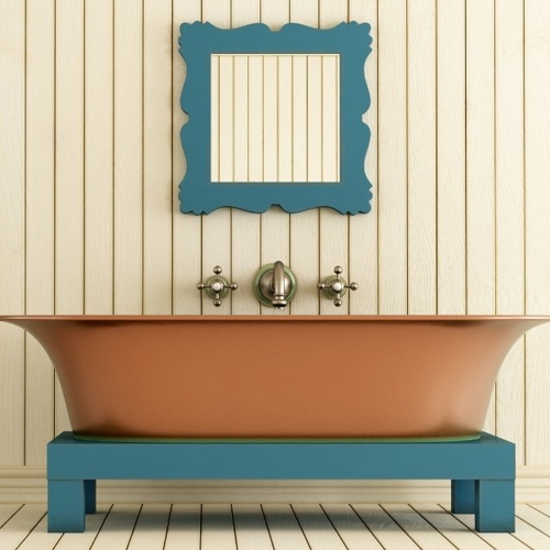For today's post we wanted to show you guys how to add character to your bathroom