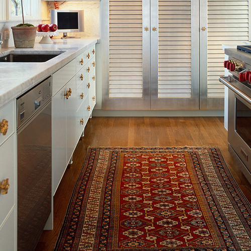 Planning to do a quick kitchen makeover? Apart from the look of your cabins and walls, you need to pay attention to some kitchen accessories as well. Rugs are pretty much back in fashion and they're a great way to add some spice to your kitchen.