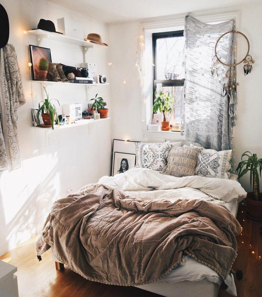 bohemian-small-bedroom