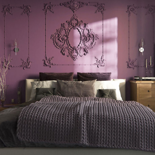 Purple bedroom ideas are amazing! Purple is linked to thoughts and creativity; additionally it is a bit a highlight of someone's maturity along with practicality